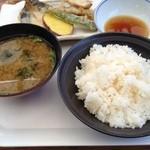 15498648 - ご飯と味噌汁