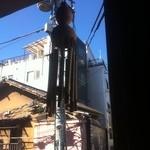 15498821 - 2階窓からの蒼い秋空