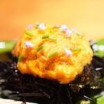 東山 吉寿 - 雲丹と玉子豆腐