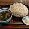 泰明庵 - 料理写真:肉つけ汁そば900円