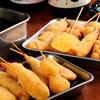 串かつ 車家 - 料理写真:本場新世界の味わいをここ京橋で!職人技が問われる揚げ方はもちろん、秘伝配合の衣など、こだわりだらけの裏側・・・★