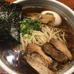 麺屋江武里 - 味玉江戸醤油ら〜麺
