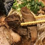 麺屋江武里 - ホロホロなチャーシュー