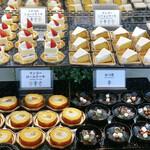 下町 DINING & CAFE THE sea - デザートコーナー