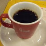 ミスタードーナツ - ミスドプレミアムブレンドコーヒー(\262)お替りできます。