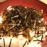 吉そば - 高菜丼