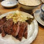 味の牛たん 喜助 - 特切り厚焼定食