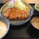 15500579 - 熟成ロースカツ定食