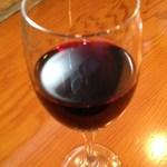 SPIGA - グラスワイン(赤、400円)