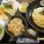 詫間 - 料理写真: 天ざるうどん+かやく御飯セット