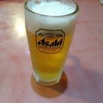 味A - ドリンク写真:生ビール中