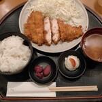 とんかつの藤 - チキンカツ定食