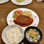 洋食バル ウルトラ - 日替わり定食(メンチカツ) 1,000円