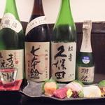 美味ひでき - 美味しい日本酒揃えてます。