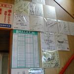 とりや茶屋 - 色々な芸能人のサイン色紙