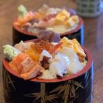 ファミリーすしガーデンハウス - 料理写真:【平日ランチ限定】まんぷくちらし