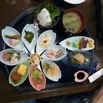 旬菜料理 花のれん - コスモス膳?1700円位野菜中心に色とりどりありかなり満足できる