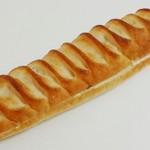 ザ・エヌビーベーカリー - あんバターフランス(帯をとったところ、2012年10月)