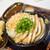 うどん 丸香 - 料理写真:貉(ムジナ)うどん 油揚げに天かす