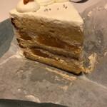 シモキタシマイ - 同行者はオレンジ的なショートケーキにしてました。