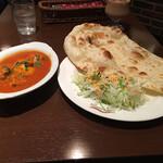 ゴングル - 料理写真:サラダと一緒に来た。