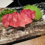 akasakakintan - 牛ハツ刺し