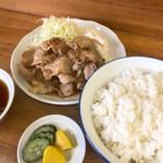 ひろし食堂 - 焼肉定食 ¥850