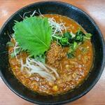 麺屋遊膳 - 青しそ担々麺