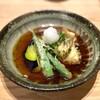 ひろ寿 - 料理写真:すずきと賀茂茄子 揚げ出し