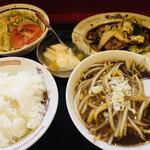 中国家庭料理 上海や - 日替わりランチ(750円)(2021.07.現在)