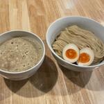 麺屋 K - 鶏つけ麺+煮卵