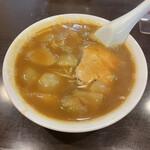 大黒亭 - 料理写真:半カレーそば