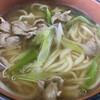 Karatachiudon - 料理写真:鴨南うどん