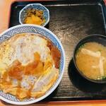 福寿庵 - 料理写真:福寿庵@十日市場 かつ丼