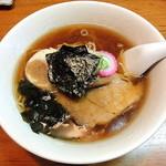 ラーメンの店 竜豊 - 料理写真:正油ラーメン_550円