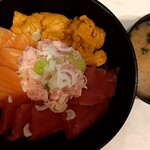 海鮮丼 若狭家 - 高価な丼