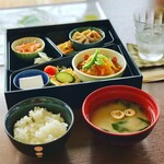 みもざ - 料理写真:日替わりランチ 700円(税込)