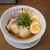 らーめん門蔵 - 料理写真:和風醤油 極 味玉のせ