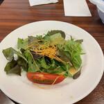 セラフィーナ ニューヨーク - パスタセットのサラダ