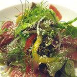 1551526 - パルマの生ハムとぶつ切り野菜のサラダ