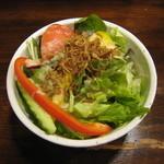 ふき乃塔 - セットのサラダ