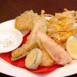 新町アルボーレ - 季節野菜のフリット 700円