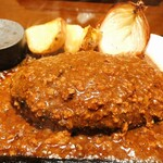Toshi - デミグラスソースハンバーグ