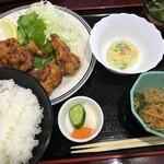 居酒屋 ヤマヤ - '21/07/22 若鶏唐揚げランチ(税込700円)