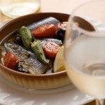 ブリック - サンマオイル煮。旬の食材を使用して作られたオイル煮。お酒とご一緒に!!