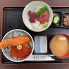 うろこいち - 料理写真:「親子丼(ご飯大盛)」@1400+「ちょい刺し」@540