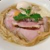 中華そば 先﨑 - 料理写真:地鶏と牡蠣と唐墨そば