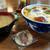 池光食堂 - 料理写真:なめこ丼~☆