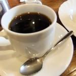 軽食喫茶『山小屋』 - おさんじセットのコーヒー