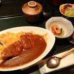 旬房 街道 青葉 - カツカレー(ランチ)